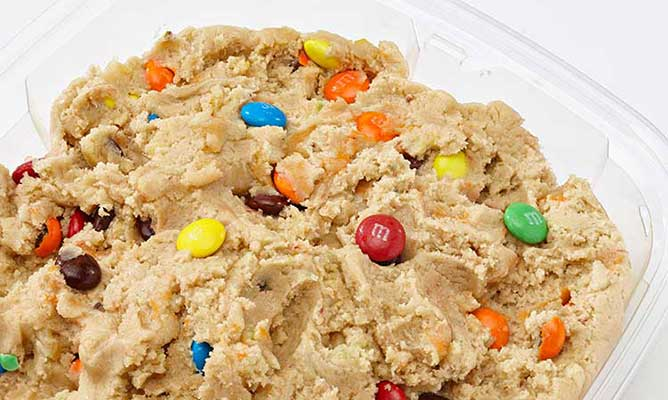 M&M Cookie Dough from Eileen's Cookies