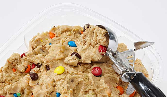 Cookie dough for fundraising